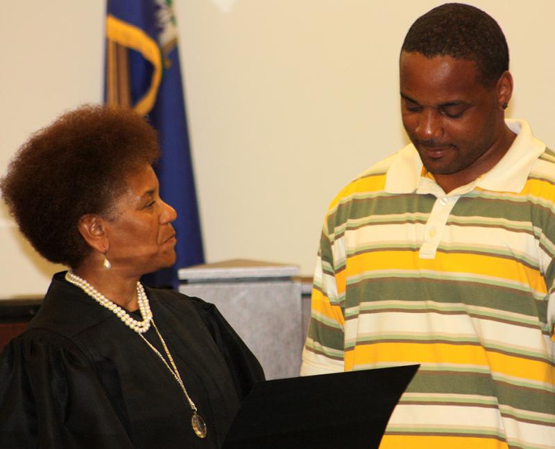 Billy recently graduated from the 12-month Support Court program in Hartford.