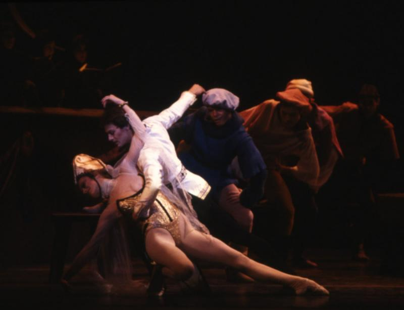 Scene from 1986 production of Carmina Burana.