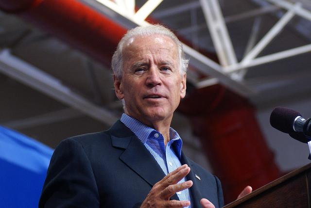 Vice President Joe Biden during a visit to New Hampshire in 2012.