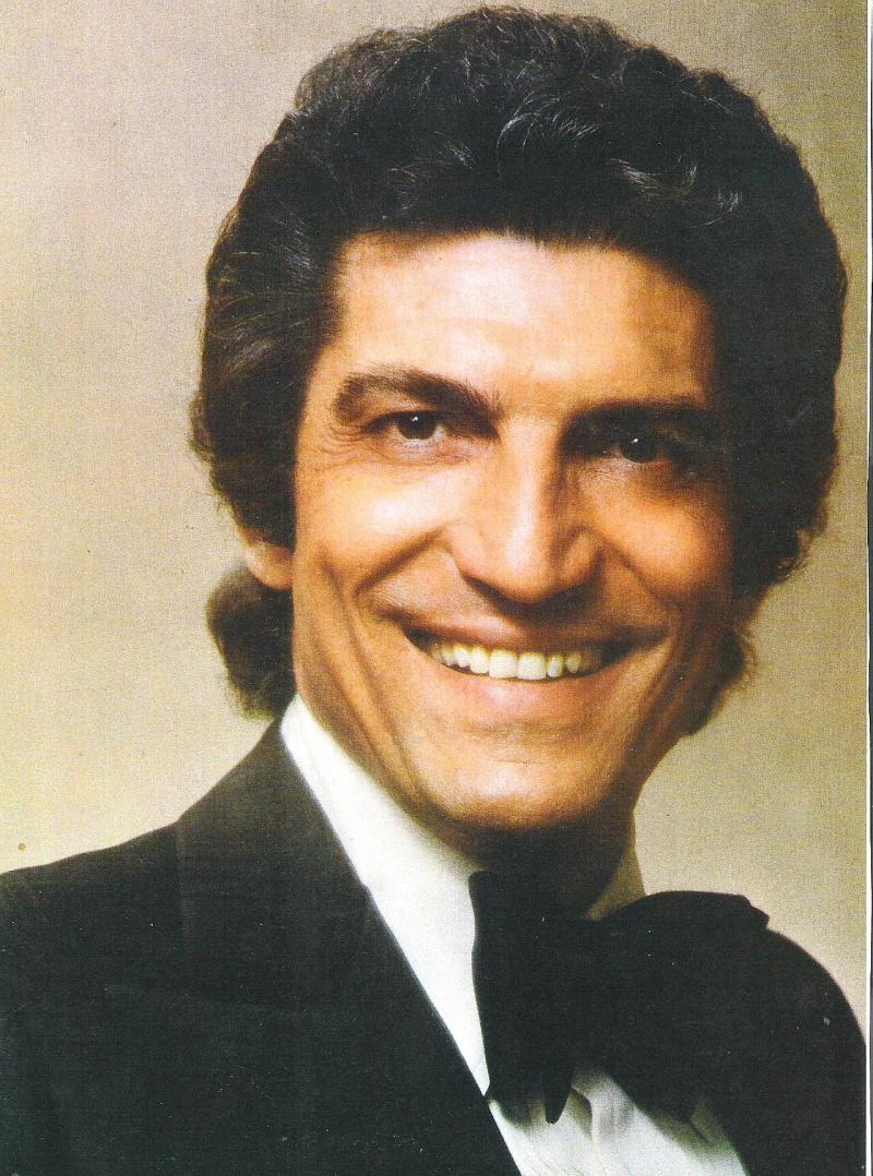 Tenor Sergio Franchi's career spanned decades, and included Broadway, film, TV specials, and countless live concerts and shows.
