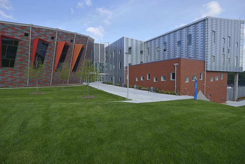 Each of the departments has an architecturally distinctive designed wing of its own, said Dan Goble.