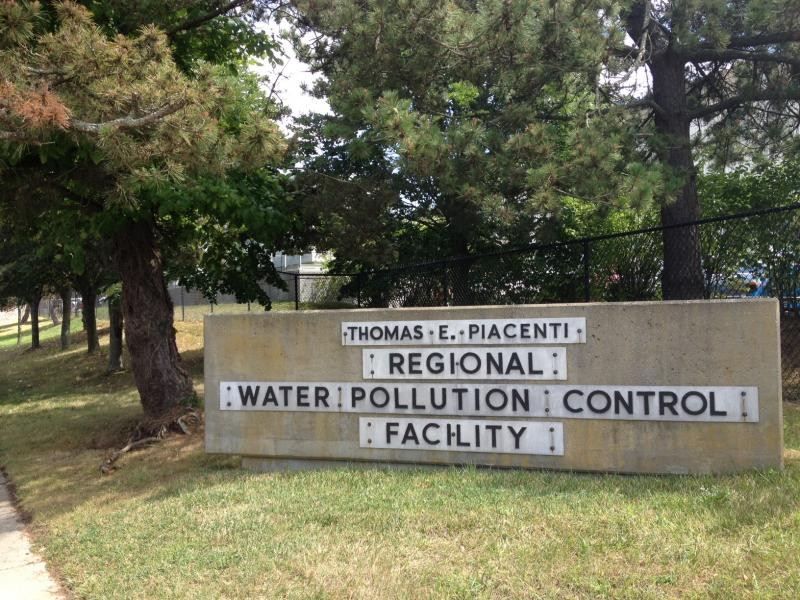 An emergency operations center was set up at the city's water treatment plant.