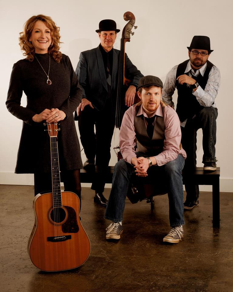 The Claire Lynch Band, a headline performer at the Podunk Bluegrass Festival.