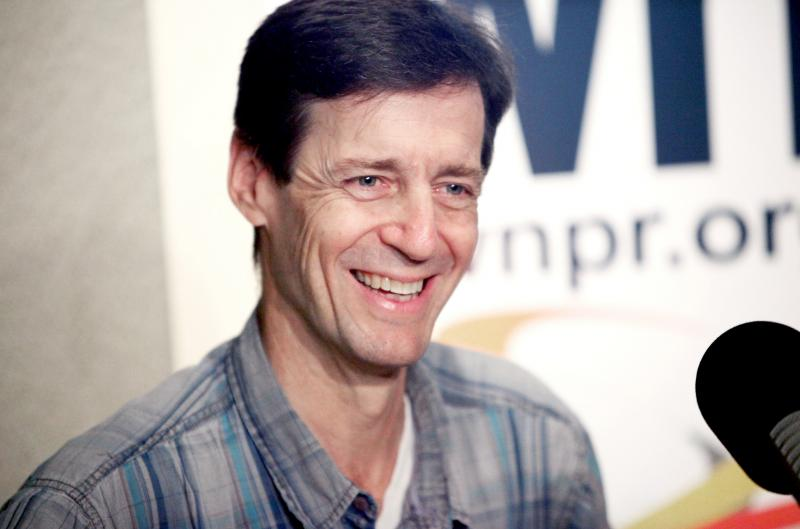 "David Lutken is the devisor of ""Woody Sez"" and portrays the lead character."