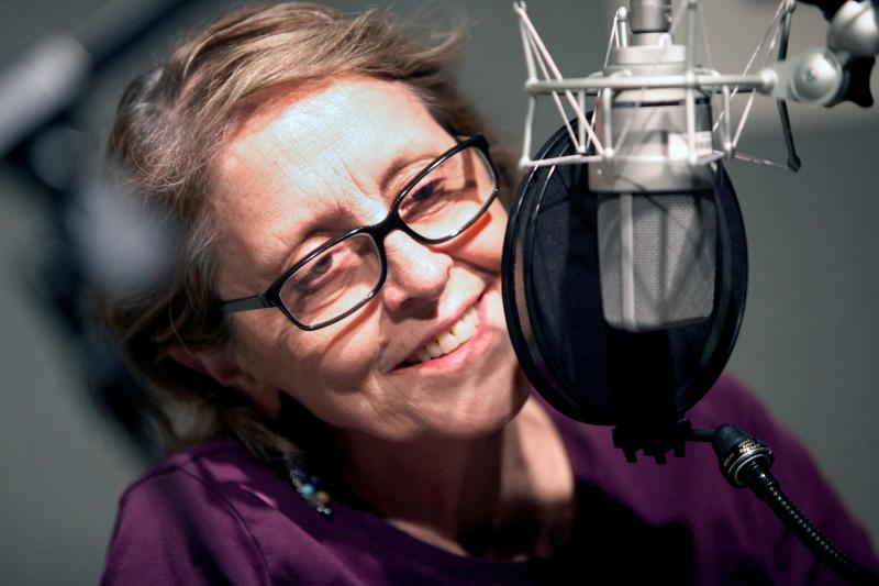Elizabeth Egloff is an award-winning playwright whose many plays include The Swan, The Lover, Wolf-Man and most recently, Ether Dome, currently in production at Hartford Stage. She's also an adjunct professor of Playwrighting at Vassar and Barnard College