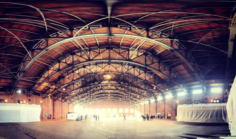 The 200,000 square foot Goffe Street Armory will become a giant exhibit space for Connecticut artists on October 11th & 12th