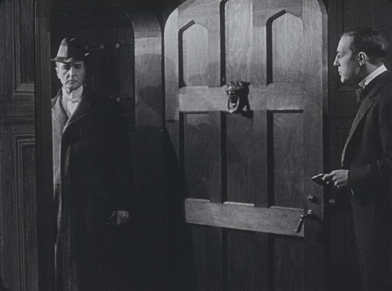 Film preservationist Rob Byrne says Holmes is commanding in the newly discovered 1916 film version of Sherlock Holmes.
