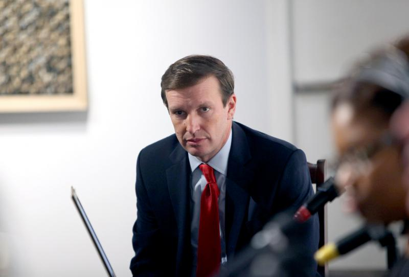 Sen. Chris Murphy in a WNPR file photo.