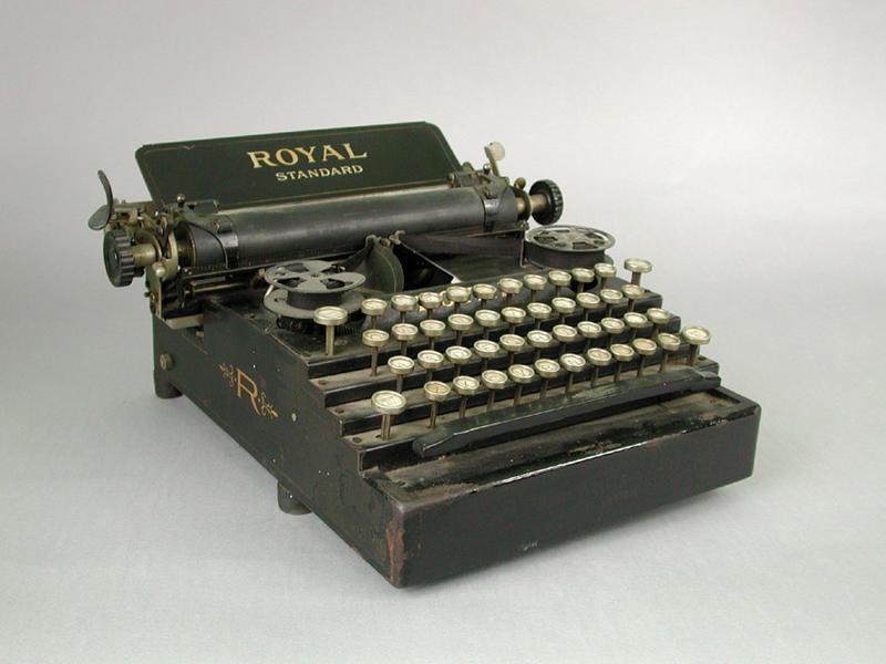 Royal Typewriter. 1901-1907.
