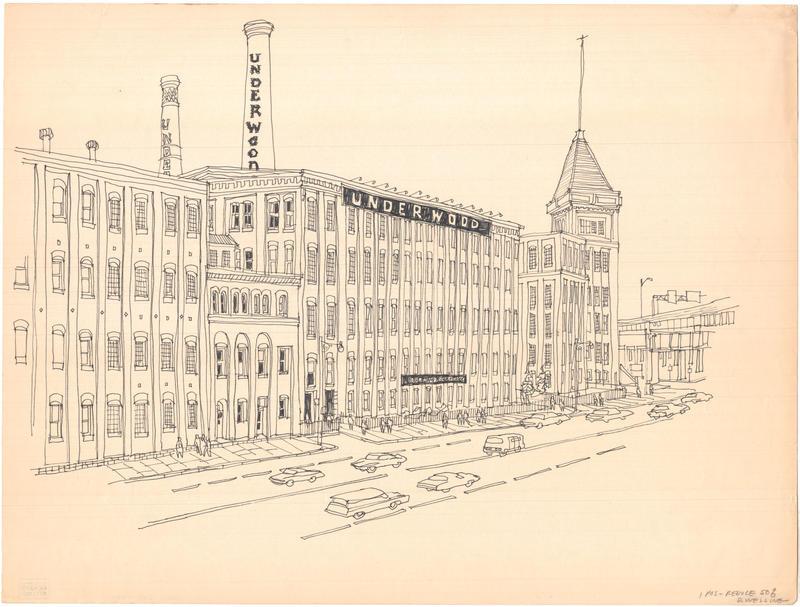 Underwood Typewriter Company. Before 1970.