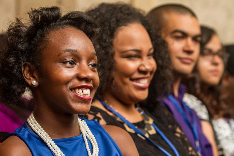 New Haven Promise Scholars.
