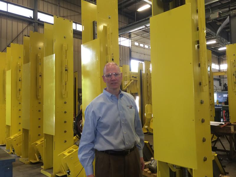 Peter McGonagle, president of Macton Corp. in Oxford, brough back manufacturing in-house.