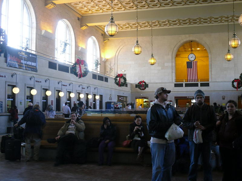 Union Station in New Haven in a file photo.