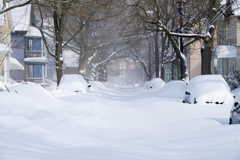 Snow in New Haven in 2013.