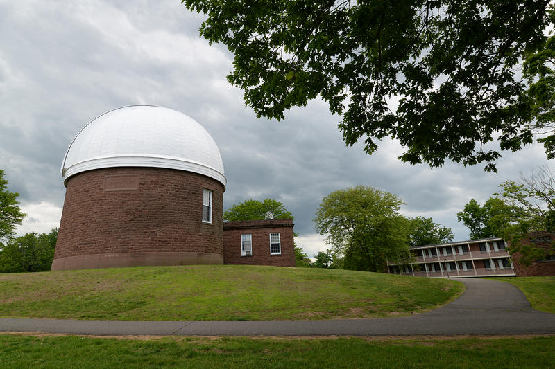 Wesleyan's Van Vleck observatory will be open to the public, rain or shine, on Wednesday nights.