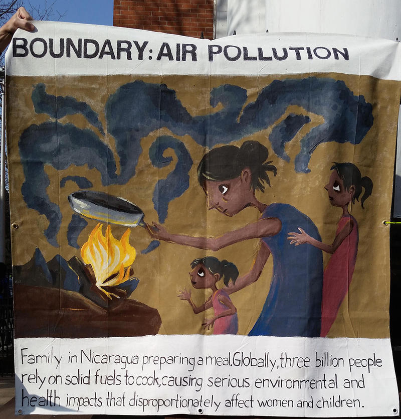 The New Haven - León Sister City Project choose air pollution as thier planetary boundary.