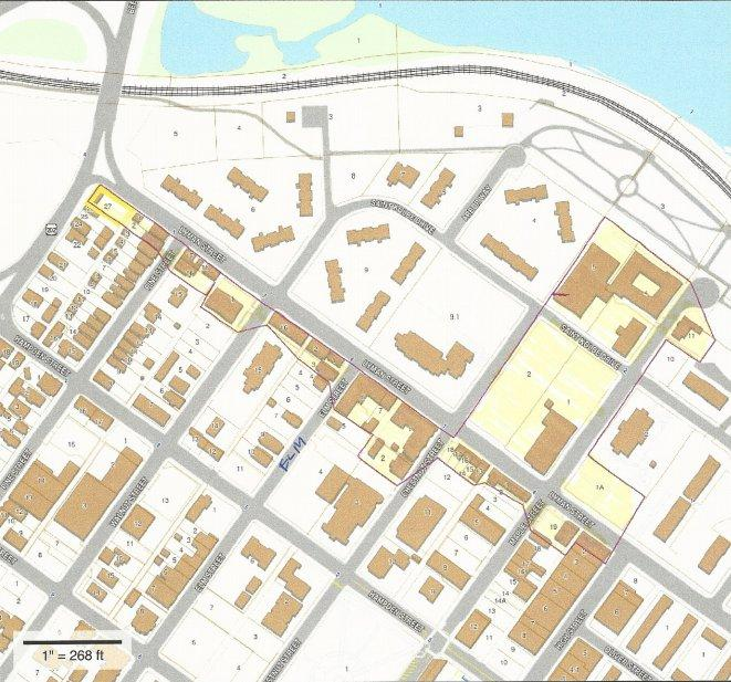 Proposed historic district in Holyoke, Massachusetts.