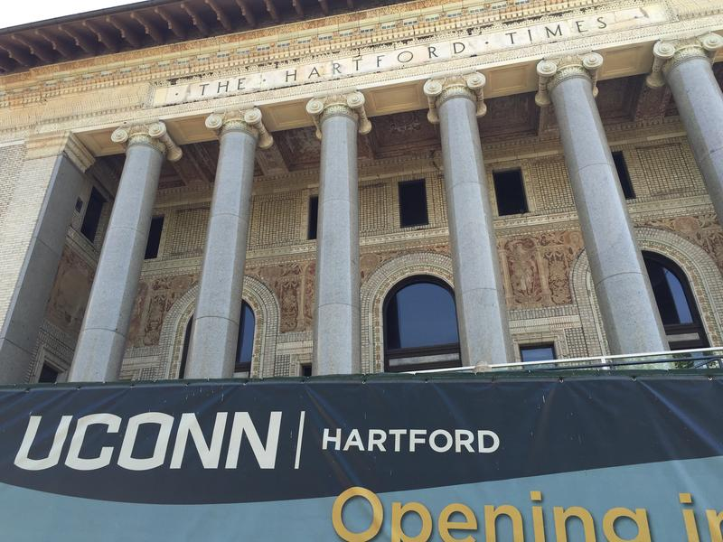 UConn's future downtown Hartford campus, set to open in 2017.