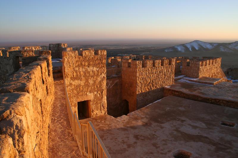 Desert Fortress in Palmyra, Syria.