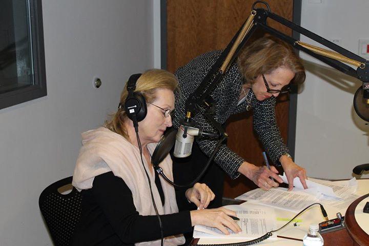 Meryl Streep and Karyl Evans