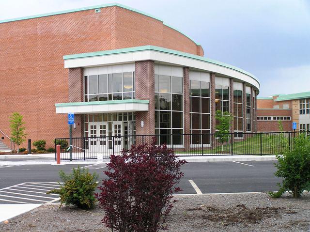 Valley Regional High School, in Deep River, Connecticut.