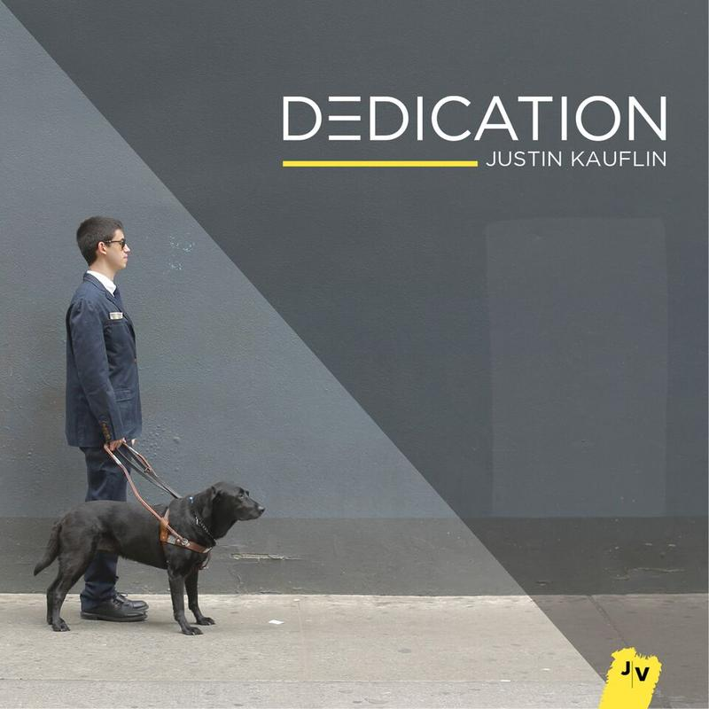 Album cover, Dedication, by Justin Kauflin.