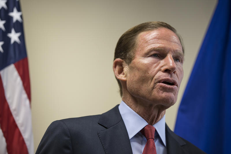 Sen. Richard Blumenthal in a file photo.