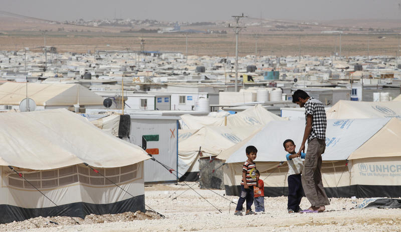 More than four million people have fled Syria and many live in places like the Zaatari refugee camp in Jordan.