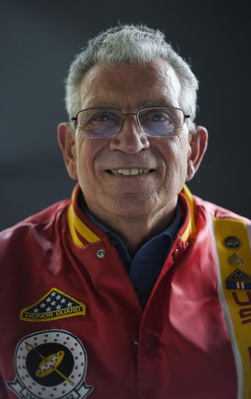 Peter Galgano served in the Vietnam War with the U.S. Marines Corps