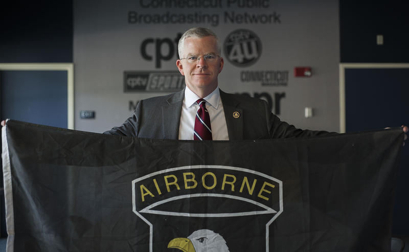 "Commissioner Connolly's first assignment in the U.S Army was with the 101st Airborne Division ""Screaming Eagles"""