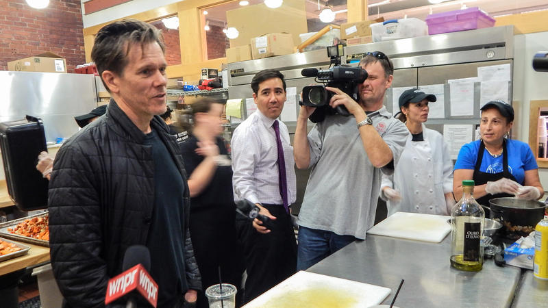 Kevin Bacon at The Kitchen at Billings Forge.