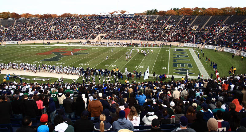 Yale Bowl during the 2007 edition of The Game.