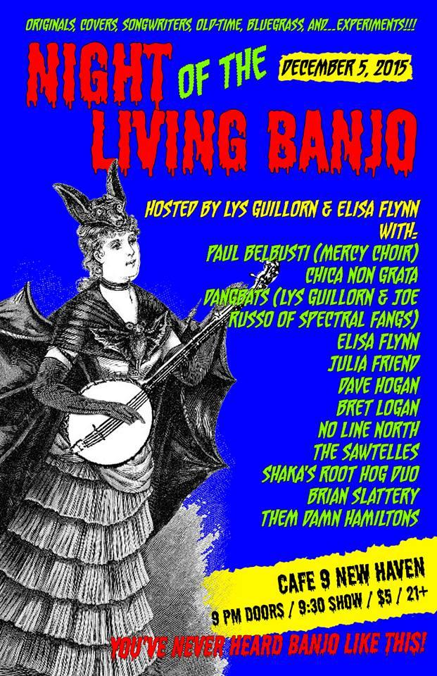 "The poster for ""Night of the Living Banjo"" says it all - ""You've never heard banjo like this."""