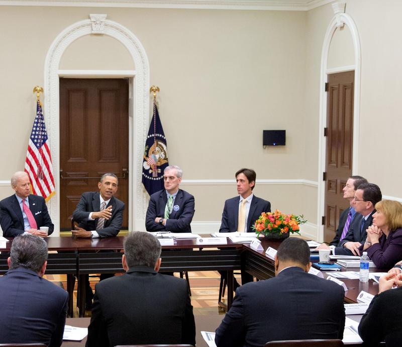 Executive Privilege And Presidential Aides: Gov. Malloy, Rep. Esty Attend Obama Gun Violence
