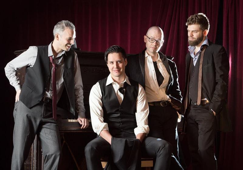 Brooklyn Rider String Quartet.