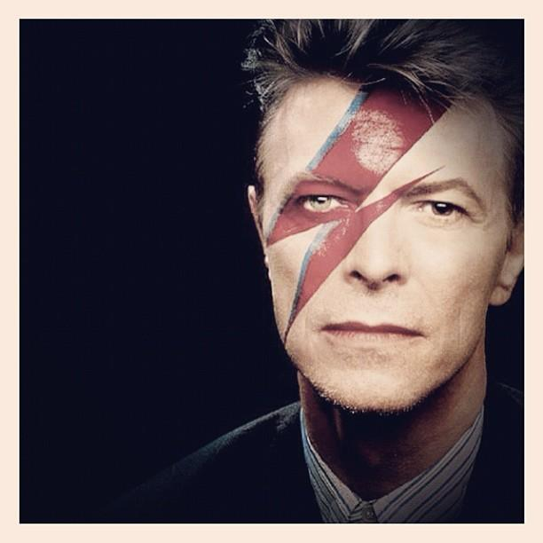 Bowie with his signature blue and red lightning bolt face paint from the Aladdin Sane album.  sc 1 st  WNPR & Boulez and Bowie: Legacies in Contrary Motion   WNPR News azcodes.com