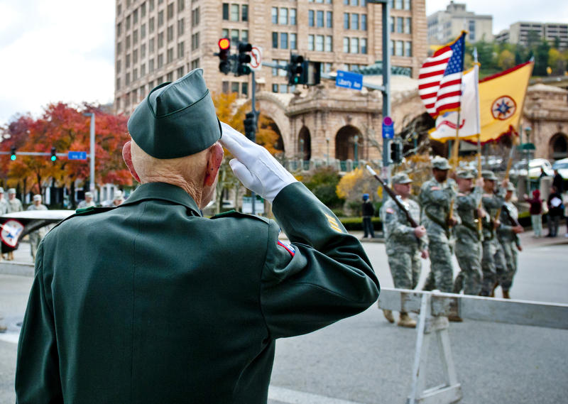 2011 Pittsburgh Veterans Day Parade.