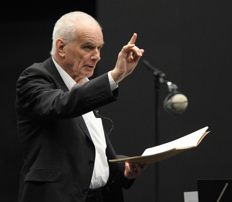 Sir Peter Maxwell Davies.