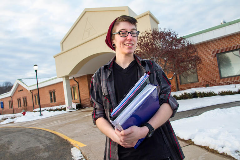 Emerson Cheney attends Tunxis Community College.