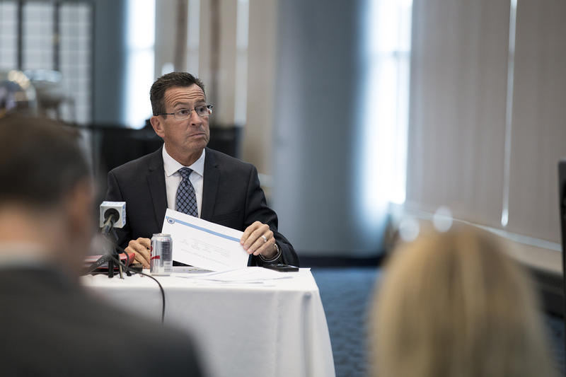 Gov. Dannel Malloy in a WNPR file photo.