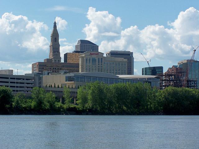 Hartford's skyline.