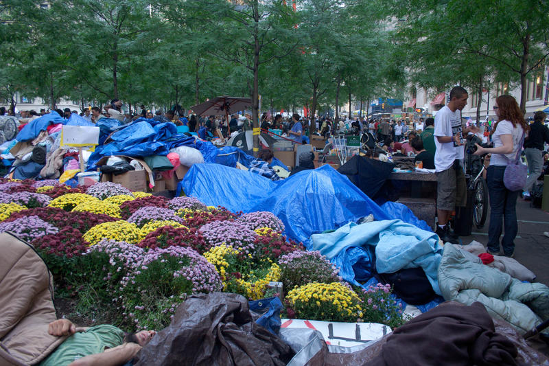Occupy Wall Street, Zucotti Park, NYC