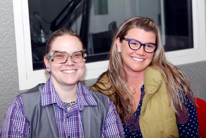 Jenna Kijowski & Jessica Bishop.