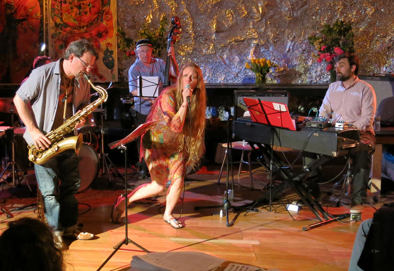 The Katie Bull Group Project performs live.