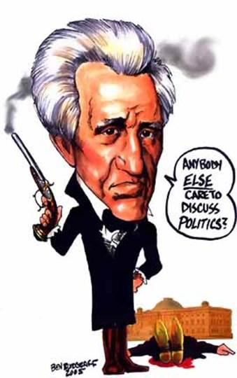 an analysis of the presidency and policies of andrew jackson the 7th president of the united states