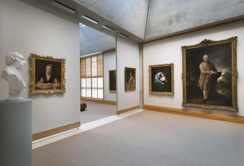 Yale Center for British Art, fourth-floor gallery following reinstallation
