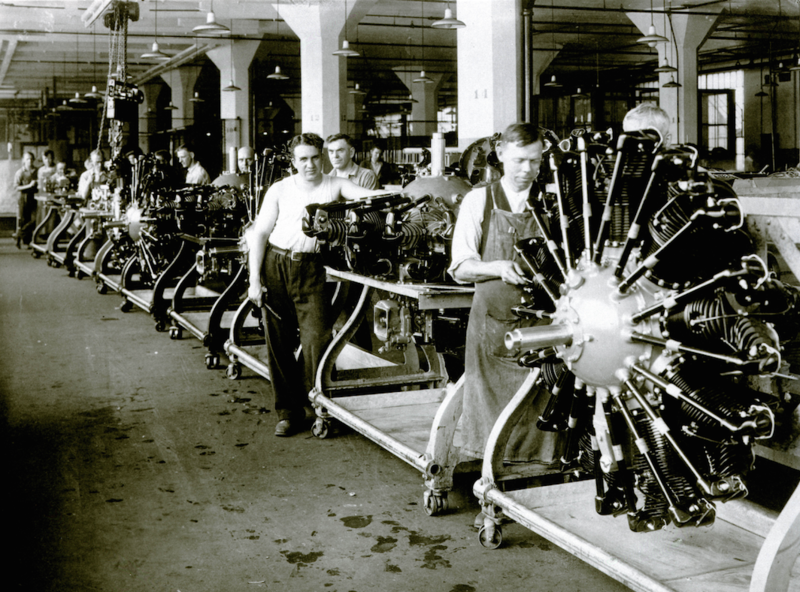 The original Wasp assembly line
