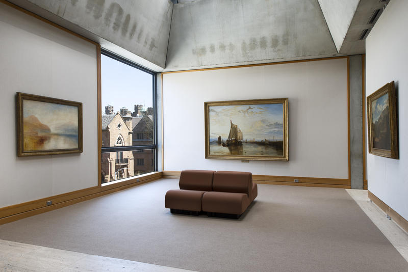 Yale Center for British Art, fourth floor, Turner Bay following reinstallation.