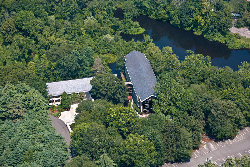 Bridgewater Associates headquarters in Westport, Connecticut. A New York Times report may have penetrated some of the firm's secrecy, revealing a culture of intimidation.