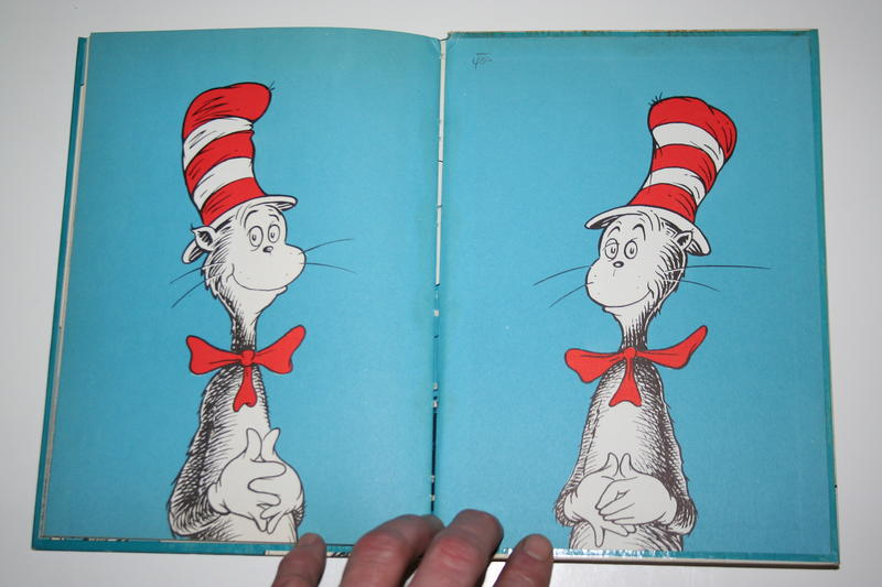 The Cat in the Hat book.